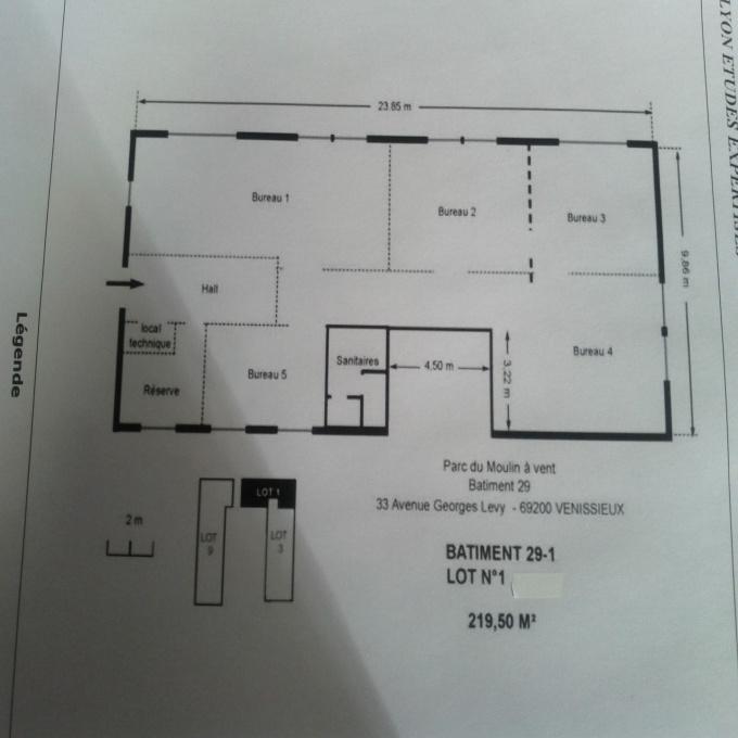 Location Immobilier Professionnel Commerce Vénissieux (69200)